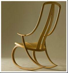 David Haig rocking chair