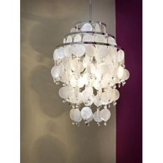 Its still available at £212.16.  Chipsy 3 Light Ceiling Pendant In polished Chrome Finish With Mother Of Pearl And Crystal Detail