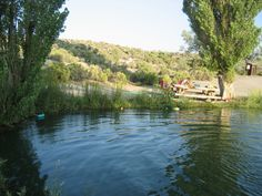 The swimming pool at Virgin Valley CCC campground.