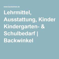 Lehrmittel, Ausstattung, Kindergarten- & Schulbedarf | Backwinkel