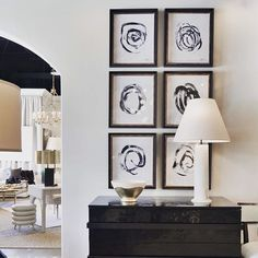 G&G Interiors: Black and White and Fab all over! Amazing new pieces in the store today #gginteriors #ggdesign #design #knoxvilledesign #nashvilledesign #blackandwhite #newart #interiorinspo