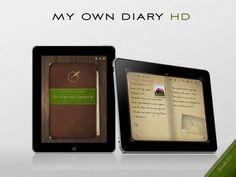 My favorite journal app:  My Own Diary HD