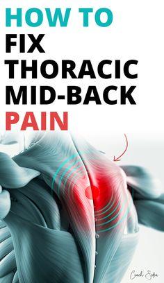 How To Fix Mid-Back Pain (Trapezius Tightness)