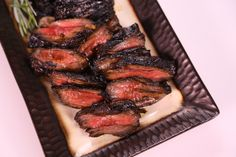 Balsamic grilled skirt steak