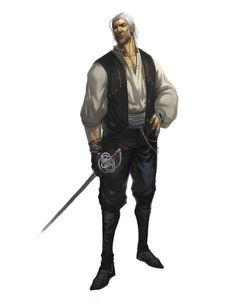 Vencarlo, capitán pirata de puerto Aguamar