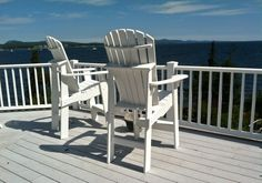 FairCape Woodworks #Adirondack #chairs faircapewoodworks.com