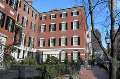 """Nichols House Museum - Hidden Travel Gems of Boston  """"A showpiece of residential Federal-style architecture, the 1804 townhouse—designed by no less than Boston's own Charles Bulfinch."""""""