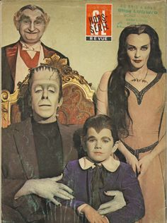 The munsters - La familia monster The Munsters, Munsters Tv Show, Space Ghost, Movies And Series, Movies And Tv Shows, Cult Movies, Scary Movies, La Familia Munster, Beatles