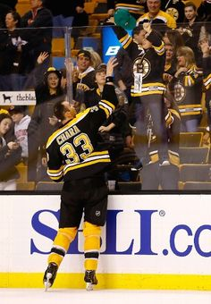 FIRST STAR: #33 Zdeno Chara, Boston Bruins... you NEVER see this in Toronto... F**K Toronto!!! Bruins ForEVA!