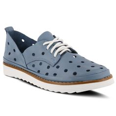 Spring Step Griselle Lace-Up Spring Step Shoes, Lace Up Shoes, Beautiful Shoes, Leather And Lace, Boat Shoes, Shoe Boots, Flats, Heels, Ladies Sandals