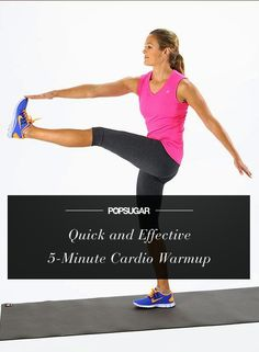 5 Moves, 5 Minutes: Your Quick Cardio Warmup | Tricksly