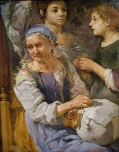 Con nuestras manos: Encajeras en el arte LA ENCAJERA Autor: Bernhard Keilhau (1624-1687)
