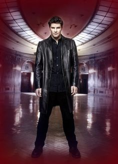 A gallery of Angel publicity stills and other photos. Featuring David Boreanaz, Charisma Carpenter, Alexis Denisof, Amy Acker and others. David Boreanaz, Marc Blucas, Charisma Carpenter, Michelle Trachtenberg, Alyson Hannigan, Sarah Michelle Gellar, Buffy Summers, Raining Men, Buffy The Vampire Slayer