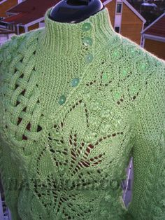 Textured sweater from Ravelry