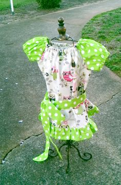 RESALE!   You little one will look darling doting these sweet little owls!  Size 2T(will fit 3T as a shirt top)