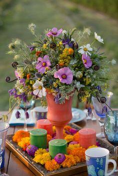 Spring Wedding Inspiration via East Lynn Farm blog