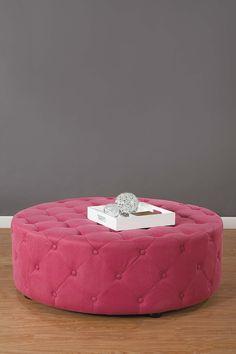 Pink closet ottoman.. fabulous!  #matildajaneclothing #MJCdreamcloset