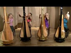 4 Girls 4 Harps play Aquarium
