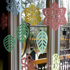 Flowerflakes | Wee Folk Art