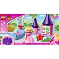 LEGO DUPLO Disney Princess Sleeping Beauty's Chamber #DisneyPrincessWMT