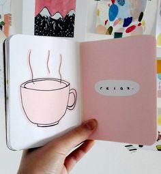 journal inspo by ig@artsyvibes.s | bullet journal art