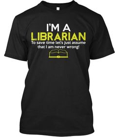 I'm a Librarian...