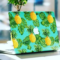 MacBook-Skin … – Ronda Hamilton – Join the world of pin Macbook Skin, Coque Macbook, Macbook Case, Macbook Pro, Cute Pineapple, Pineapple Girl, Pineapple Clothes, Accessoires Iphone, Apple Iphone