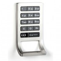 Digilock DK-ATS Shared Use Electronic Keypad with Locker Pull :: Keyless Entry Door Locks from GoKeyless Athletic Locker, Used Lockers, Keypad Lock, Digital Lock, Personal Storage, Electronic Lock, Cabinets For Sale, Security Solutions, The Black Keys