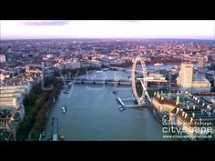 London Aerial Footage - Flight down the Thames East London, London City, Aerial Footage, London Bridge, British History, British Isles, Aerial View, The Neighbourhood, Cruise