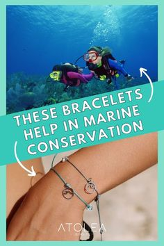 Every purchase of our ocean jewelries help save our ocean! Be a part of this mission. Learn more about our advocacy at atoleajewelry.com