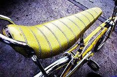 Banana Seat bikes. Had one. Hated it. Handed down from my older sisters. Nothing like out of style hand-me-downs.