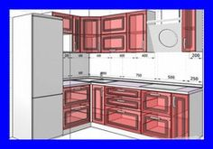 Дизайн белой Г-образной кухни 6 кв.м (13 фото) Kitchen Room Design, Home Decor Kitchen, Kitchen Interior, New Kitchen, Kitchen Dining, Kitchen Cabinets, Kitchen Measurements, Small Apartment Kitchen, Ikea