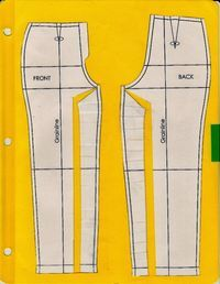 Cation Designs: Pants Pattern Alterations - brilliant descriptions and explanati. - Cation Designs: Pants Pattern Alterations – brilliant descriptions and explanation of almost any - Sewing Patterns Girls, Clothing Patterns, Dress Patterns, Shirt Patterns, Coat Patterns, Crochet Patterns, Sewing Pants, Sewing Clothes, Doll Clothes