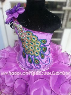 Glitz Pageant Dress Made to Order by PageantCouture on Etsy Glitz Pageant Dresses, Pagent Dresses, Pageant Wear, Baby Pageant, Pageant Girls, Little Girl Dresses, Flower Girl Dresses, Toddlers And Tiaras, Dress Making
