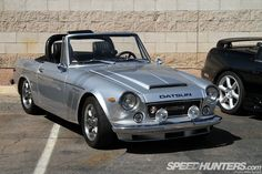 Datsun, my dad had one of these and I learned to drive a manual with it.