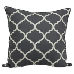 Oversized Lattice Pillow