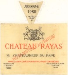 Rayas Chateauneuf du Pape 1979 - Google Search