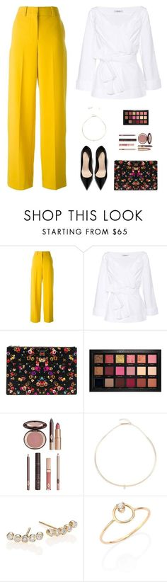 """""""Sin título #5104"""" by mdmsb on Polyvore featuring moda, Cédric Charlier, Dorothee Schumacher, Givenchy, Huda Beauty, Charlotte Tilbury y ZoÃ« Chicco"""
