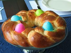 Every Easter my mother would make this bread, and today I'm passing it along to you.