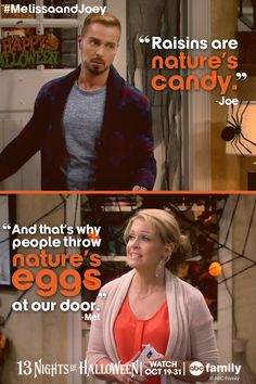 We're so excited for tonight's Melissa & Joey Halloween special! Tune-in at 8/7c on ABC Family!