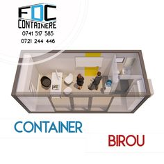 Spațiu de birou din container cu vitrina frontala de 3m lungime, potrivit și ca spațiu de cazare modern sau de locuit. Spațiu de birou/cazare vitrat cu toaleta proprie.  #fabricatinromania🇹🇩 #container #containerhouse #modularoffice #modular #containeroffice #officespace #containerarchitecture #sustainability #sustainableliving #smartliving #smartoffice #smartcity #smartbuilding #smartbusiness #officedesigntrends #officedesign #3dmodel #3dmodeling #corporatesocialresponsibility…