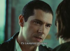 Laurence,anyways.