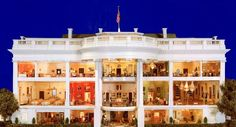 """""""the white house in miniature"""""""