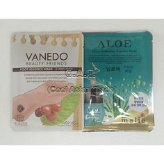 Natural foot care sheet Mask 1pair / Mask Pack Sheet Moisture Face Skin Car 1pc #malievanedo