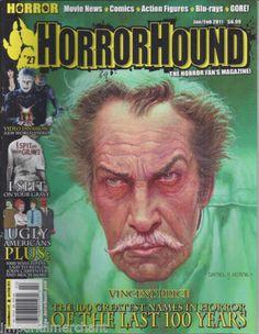 Vincent Price in Horror Hound magazine issue # 27