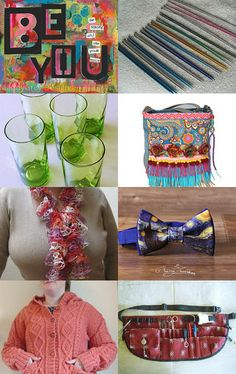 BE YOU ...........................................Gratitude Treasury by Pat Peters on Etsy--Pinned+with+TreasuryPin.com