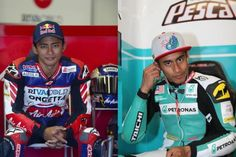 Zulfahmi Khairuddin (left) and Hafizh Syahrin Abdullah will lead the local charge at the Malaysian Grand Prix at Sepang this weekend.
