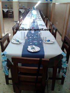 TiquisArte: Primera comunión Poker Table, Furniture, Home Decor, Blue And White, First Holy Communion, Decoration Home, Room Decor, Home Furnishings, Home Interior Design