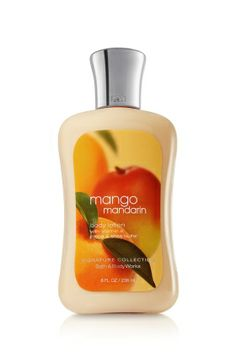 Mango Mandarin-Bath & Body Works Body Lotion: AMAZING! such a refreshing fragrance, perfect for summer and as an extra, it was on sale from $11 dlls to $3!