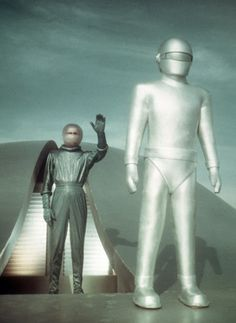Gort the robot from the original The Day the Earth Stood Still. It is a wonderful black and white movie, still a favorite of mine.